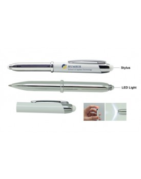 GENIUS - Stylus with LED Light Ball Pen