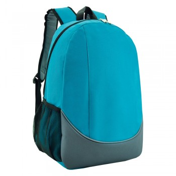 Modern Red Turquoise Colors Design Polyester Backpack