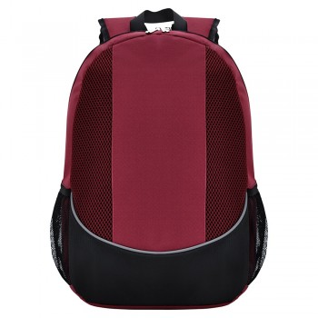 Modern Maroon Purple Design Polyester Backpack