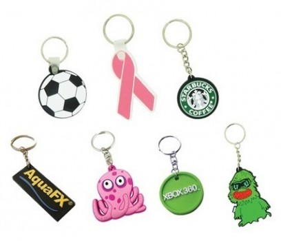 PGM MC OEM SOFT RUBBER KEYCHAIN