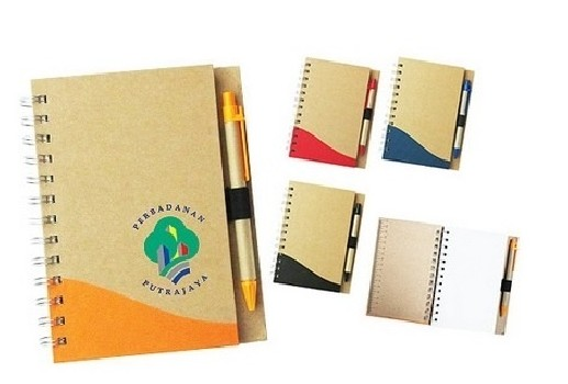 PGM MC ECO CALENDAR ROTA NOTEPAD WITH PEN
