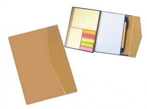PGM MC GROOVY NOTEPAD WITH PEN