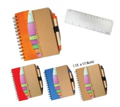 PGM MC WINDOW NOTEPAD (WITH PEN & STICKY NOTE)