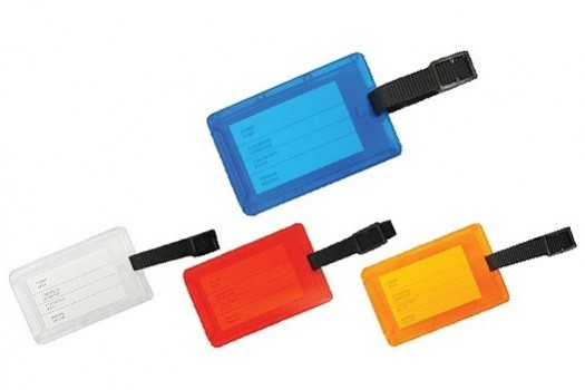 PGM MC OEM SOFT RUBBER LUGGAGE TAG