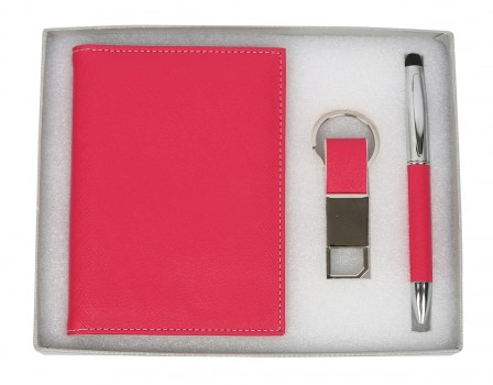 PU Passport Holder Gift Set