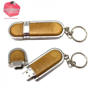 Leather Ring USB Flash Drive