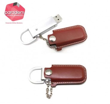 Cover Leather USB Flash Drive