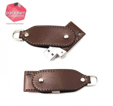 Modern Designed Leather USB Flash Drive