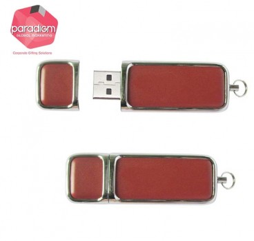 Simple Leather USB Flash Drive