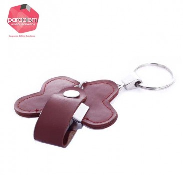 Butterfly Shaped Leather USB Flash Drive