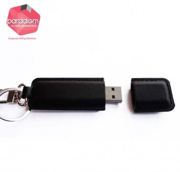 Elegant Leather USB Flash Drive