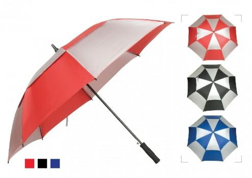 "30"" Auto Double Layer Umbrella"