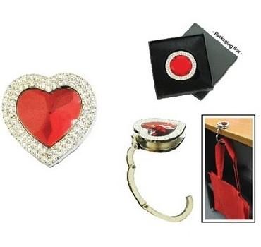 Heart Jewels (Bag Hook)