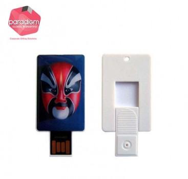 Push Card USB Flash Drive