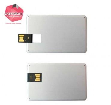 Sleek Aluminium Card USB Flash Drive