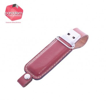 Fine Leather USB Flash Drive