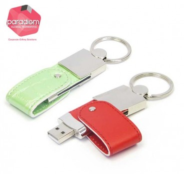 Mini Leather USB Flash Drive