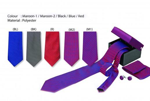 3 in 1 Necktie