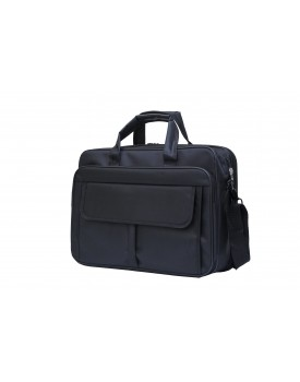 Spacious Laptop Handbag (Black)