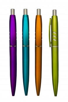 Toned Colour Plastic Pen