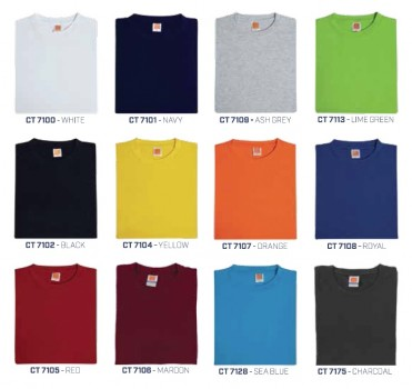 PGM OS CT71 UNISEX SUPERB COTTON