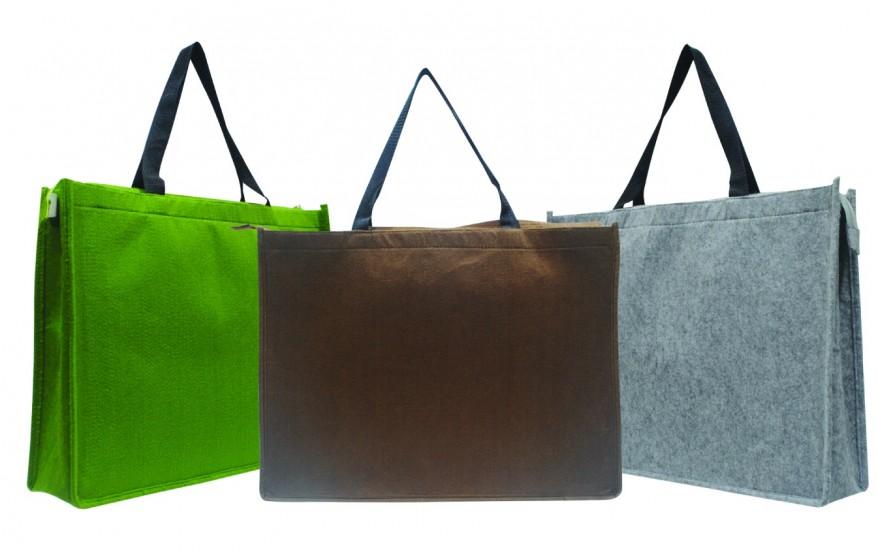 Carrier Bag with zipper