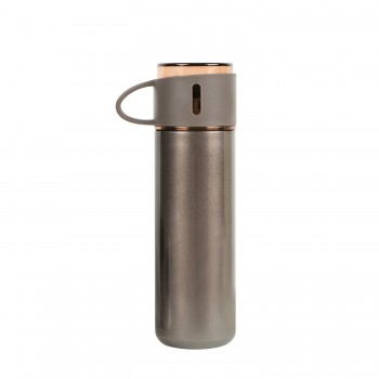 2 in 1 Stainless Steel Thermo Tumbler