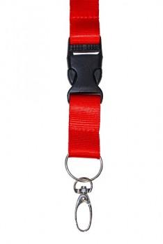 Buckled Nylon Card Necklace Holder