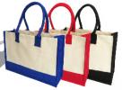 PGM BG Jute With Lamination Canvas Bag