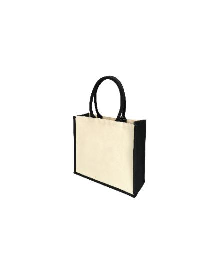 PGM BG Black Lamination Canvas Bag