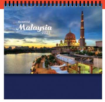 PGM ED Desktop Calendar - Beautiful Malaysia (H)