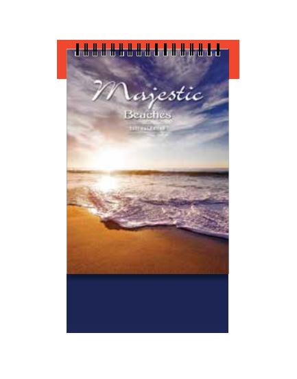PGM ED Desktop Calendar - Majestic Beaches