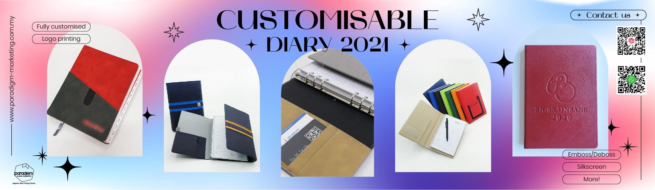 Customise/Ready Stock Diary 2022